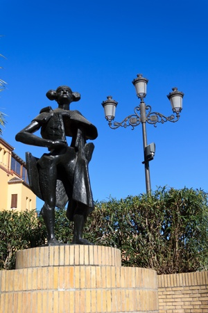 belmonte: The monument to Juan Belmonte in Seville
