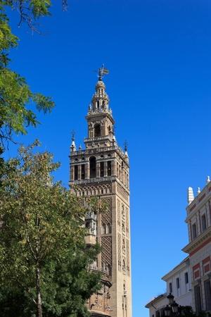 The Giralda tower (Seville - Spain) photo