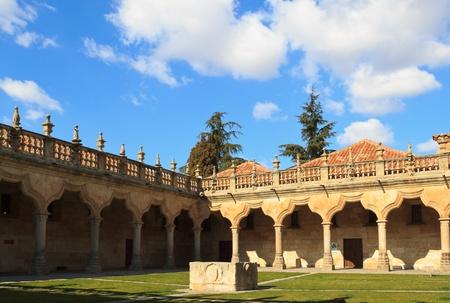 Salamanca - Patio de las Escuelas Menores