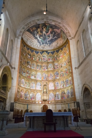 Salamanca - Old Cathedral (inside)