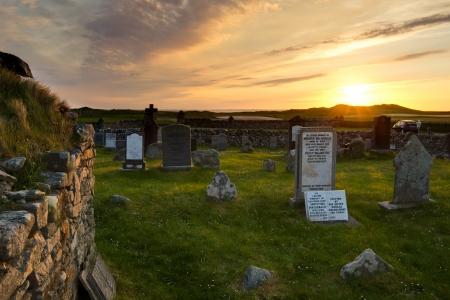 baile: Nunton burial ground - Outer Hebrides