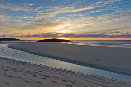 Sunset at Tangasdale (Isle of Barra - Outer Hebrides)