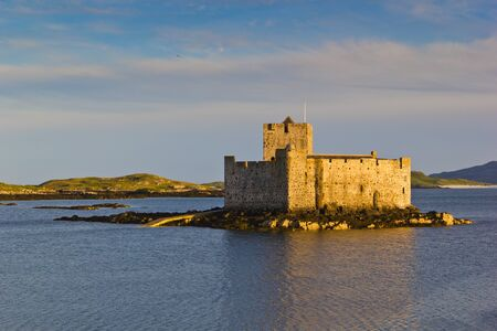 Kisimul Castle (Scottish Gaelic: Caisteal Chiseamail), also spelt Kiessimul Castle or Chisimul Castle, is a small medieval castle located in the centre of Castlebay on Barra, an island of the Outer Hebrides, Scotland.