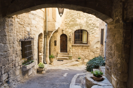 A little street in Lacoste (Provence - France)