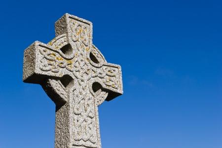 celtic: Croce Celtica Archivio Fotografico