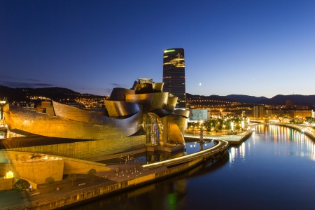 The Guggenheim Museum Bilbao is a museum of modern and contemporary art, designed by Canadian-American architect Frank Gehry, and located in Bilbao, Basque Country, Spain