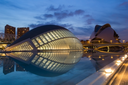 glass art: The City of Arts and Sciences - Valencia