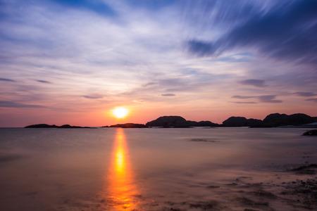 Scottish sunset 版權商用圖片