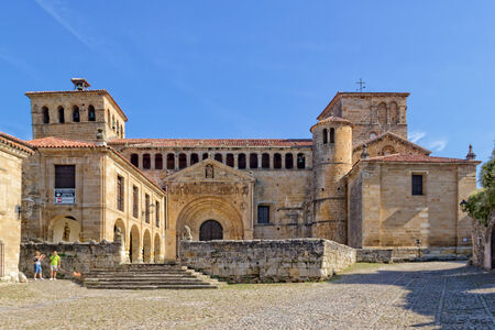 juliana: The Collegiate y Claustro de Santa Juliana is a collegiate church located in Santillana del Mar, Spain.