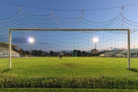 arquero de futbol: La soledad del portero