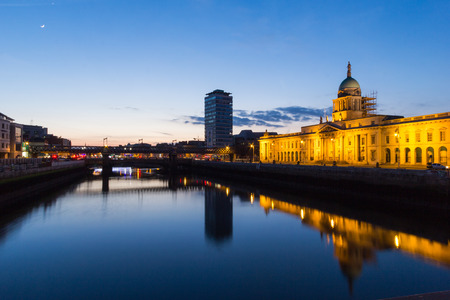 liffey: The Custom House is a neoclassical 18th-century building in Dublin, Ireland