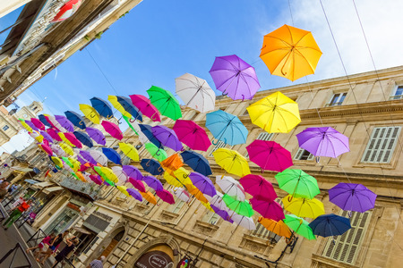 arles: Colourful image taken in Arles - Provence - France Stock Photo