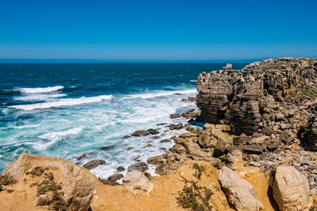 Peniche coastline 版權商用圖片