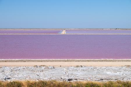 Saltworks in Provence
