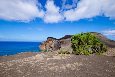 Capelinhos Coast - Azores Islands 版權商用圖片