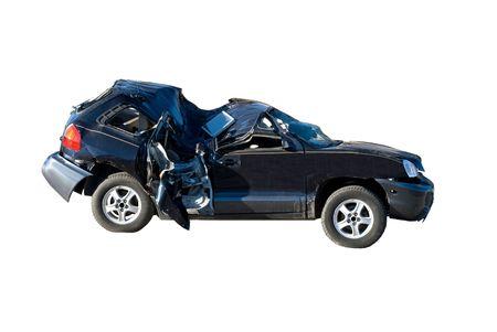 Wrecked automobile Stock Photo - 2623952