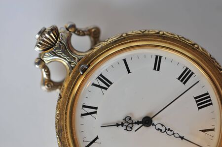 Old gold colored pocketwatch
