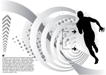 muscular control: abstract sport design