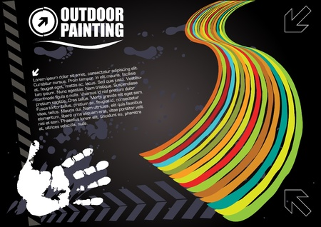 outdoor painting  Vector