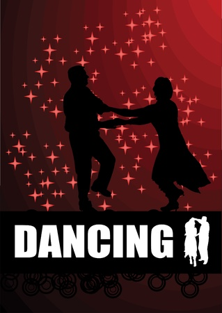latin dancer: dancing magic background