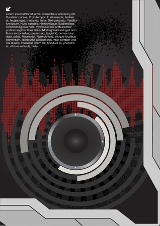 speaker technical background  Vector
