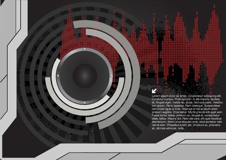 speaker technical background  Vector