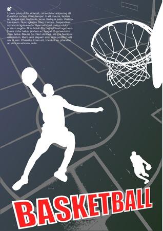 basketball player vector Stock Vector - 10009563