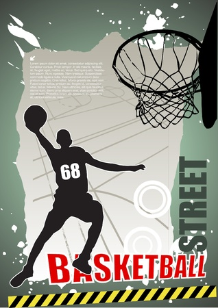 basketball dunk: basketball vector
