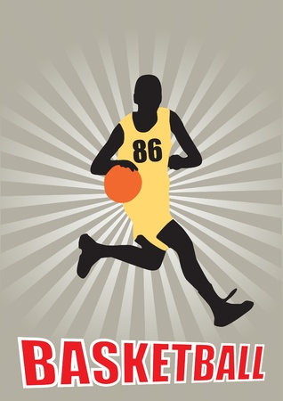 basketball vector  Stock Vector - 10009519