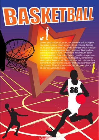 basketball vector Stock Vector - 10009566