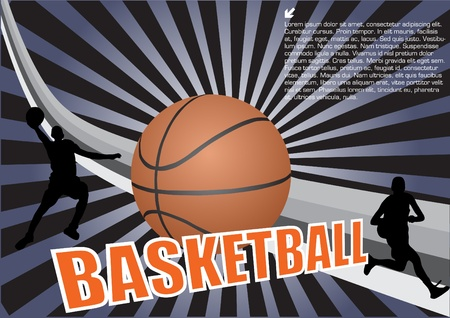 basketball vector Stock Vector - 10009549