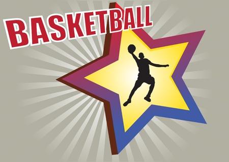 basketball vector  Stock Vector - 10090197