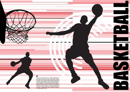 mars: vecteur de basket-ball  Illustration