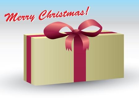 gift box for christmas  Vector