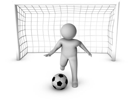 goalkeeper: 3d gardien de but