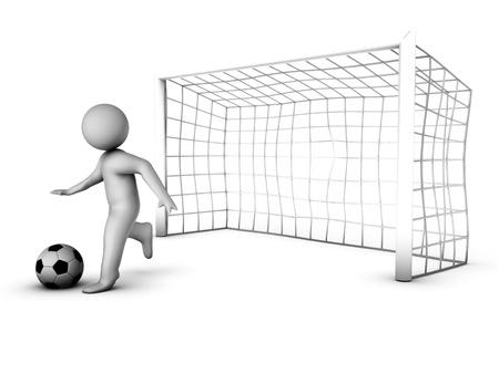 goalline: 3d goal-keeper