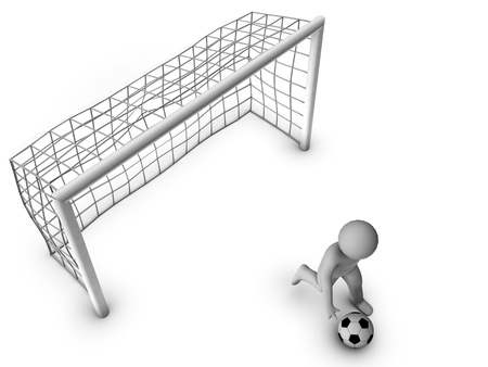football net: 3d goal-keeper