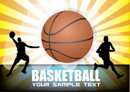 mars: basket-ball vecteur