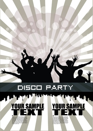 party background  Stock Vector - 12236792