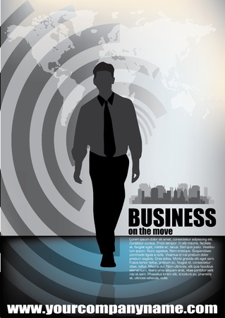 Business-Vektor-Illustration Standard-Bild - 12236840