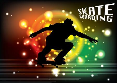 skateboarden achtergrond