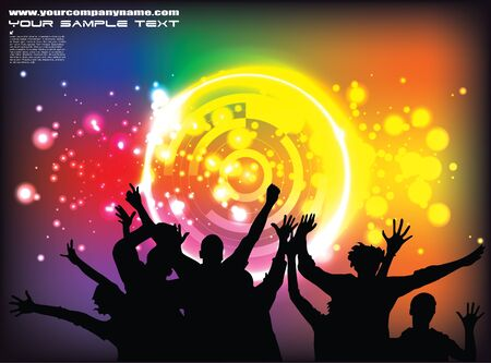 party background Stock Vector - 13600906