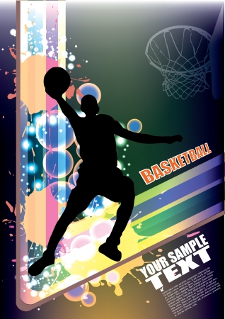 basketball vector  Stock Vector - 13784985