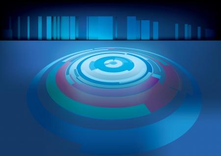 microprocesadores: tecnolog�a de la perspectiva del anillo de fondo