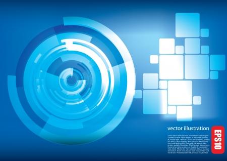digital futuristic background Stock Vector - 14408605