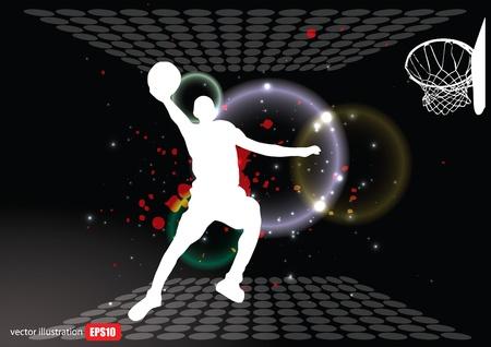 mars: basket-ball Illustration