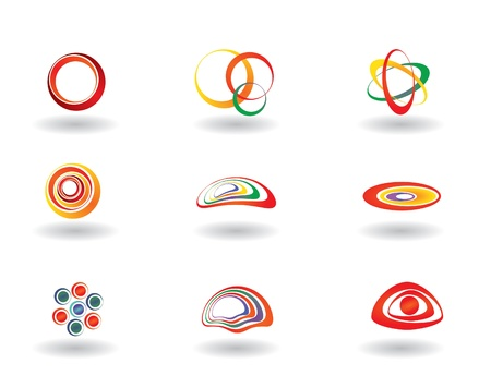 set of icons Stock Vector - 14612935