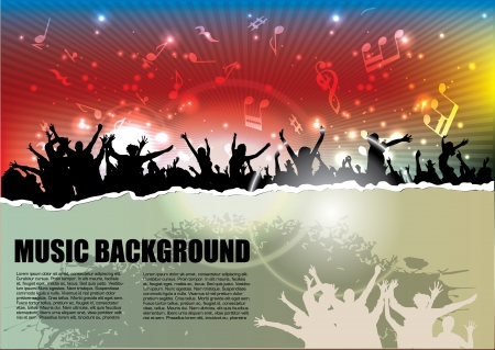 party background Stock Vector - 15145251