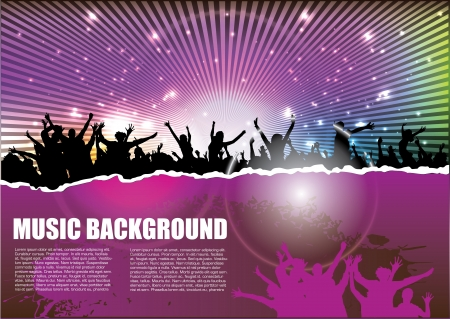 party background  Illustration