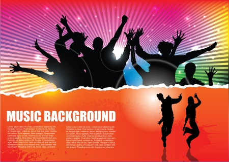 party background  Stock Vector - 15382041
